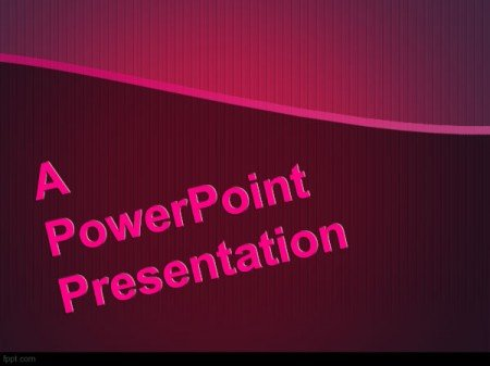 presentation on the