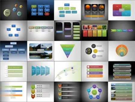 Terberg powerpoint templates powerpoint presentation for Microsoft office smartart templates