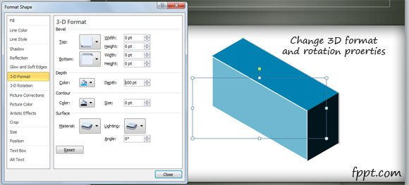 How To Create A 3d Box In Powerpoint Powerpoint Presentation