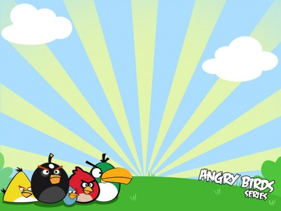 Angry Birds PowerPoint Template Free