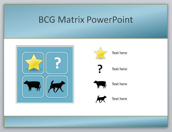 How to create a Boston Consulting Group BCG Matrix PowerPoint template ...