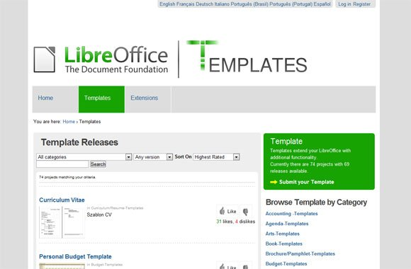 Libreoffice Templates For Presentations Powerpoint