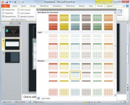 ... color and styles in PowerPoint presentation   PowerPoint Presentation