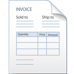receipt for services rendered template
