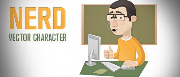 Character Design Presentation : Make geek presentations in powerpoint with vector