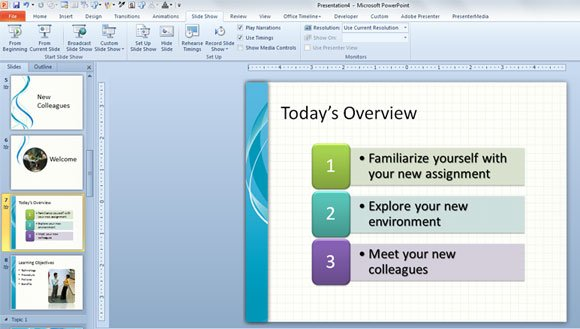 Training new employees powerpoint template powerpoint for Orientation powerpoint presentation template