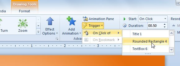 play video in slideshow powerpoint 2010