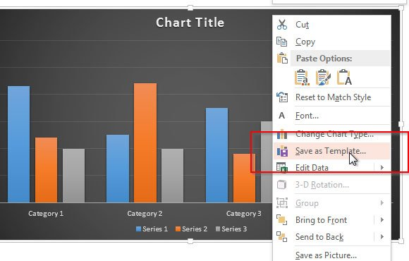 Save chart templates in powerpoint 2013 powerpoint for Office 2010 design mode
