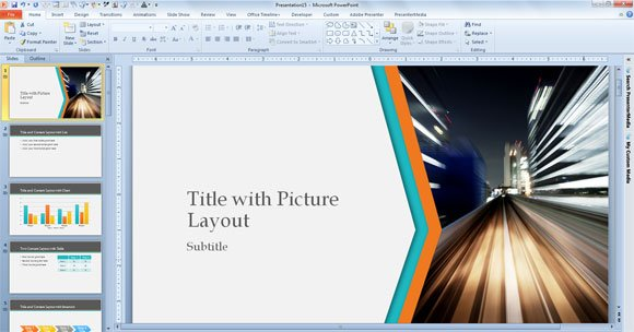 Nice Template For Powerpoint