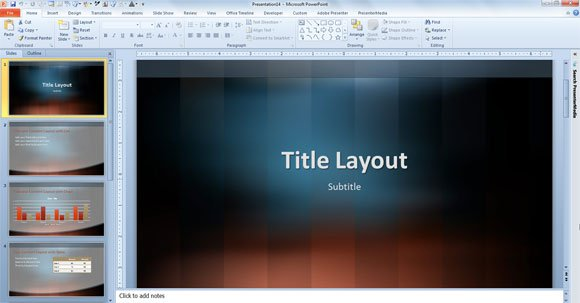 Free vertical lexicon design template for powerpoint 2013 for Design templates for powerpoint 2013
