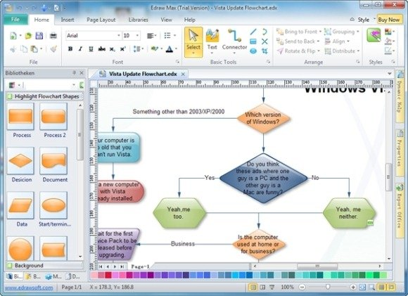 best paid and free flow chart makers powerpoint presentation