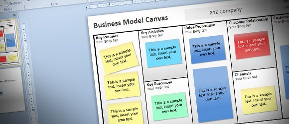 Business model template ppt business canvas template ppt lukesci resume bussines wajeb Choice Image