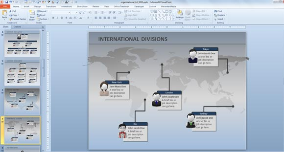 ... org chart so you can use it for global companies and global org chart