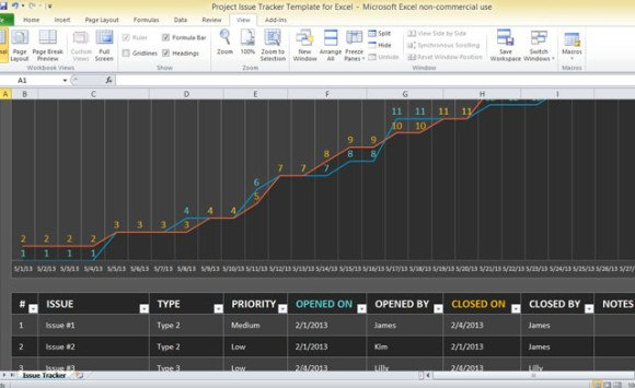 Best Project Management Templates For Excel – Project Tracking Template