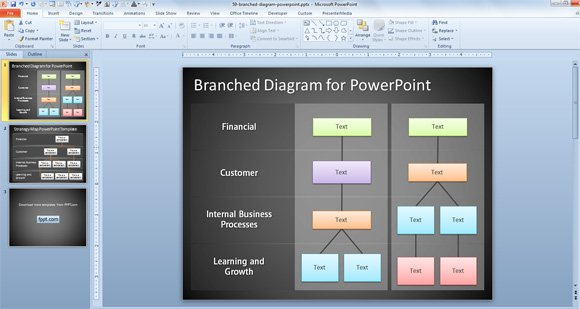 Free Tree Diagram For Powerpoint Presentations
