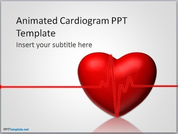 cardiovascular powerpoint template free - how to make dull presentations attractive using animations