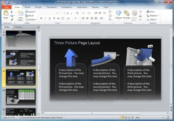 Animated powerpoint templates for motivational presentations picture page layout toneelgroepblik Gallery