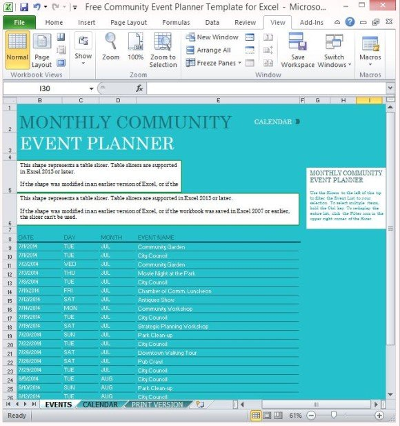 event planner template search results calendar 2015