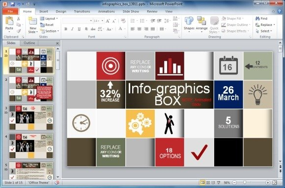 Infographic powerpoint template animated infographics template for powerpoint powerpoint toneelgroepblik Image collections