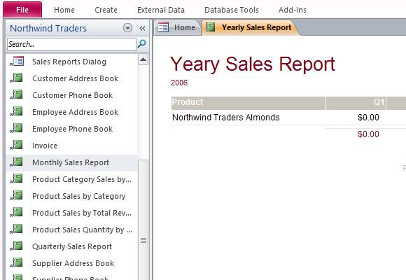 microsoft access simple sales inventory database template