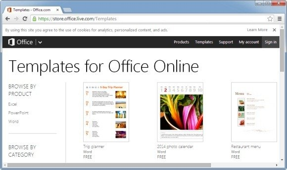 how to download old ms office templates removed by
