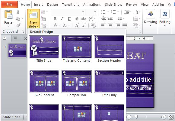 how to choose a powerpoint template