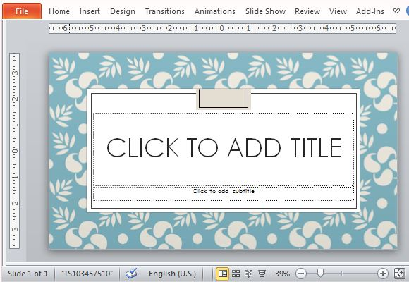Design Elegant Powerpoint Elegant Savon Style Powerpoint