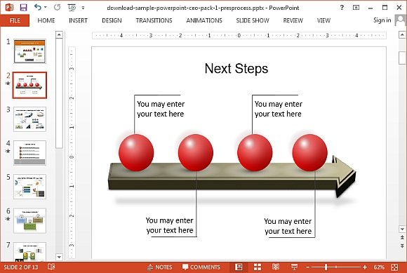 How To Draw A 3D Roadmap in PowerPoint – Career Timeline Template
