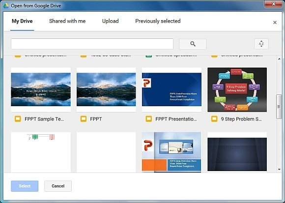 how to save a powerpoint presentation to a flash drive