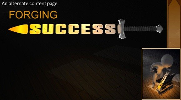 Forging Success PowerPoint Template
