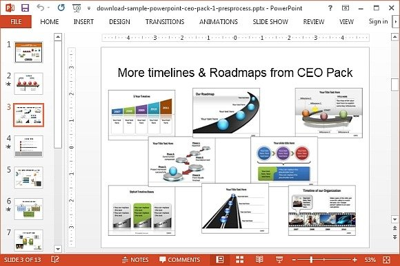 How to create 3d quadrant circle in powerpoint for making business editable roadmaps and timelines for powerpoint ccuart Gallery